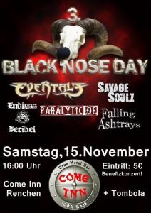 Flyer Black Nose Day 15.11.2014