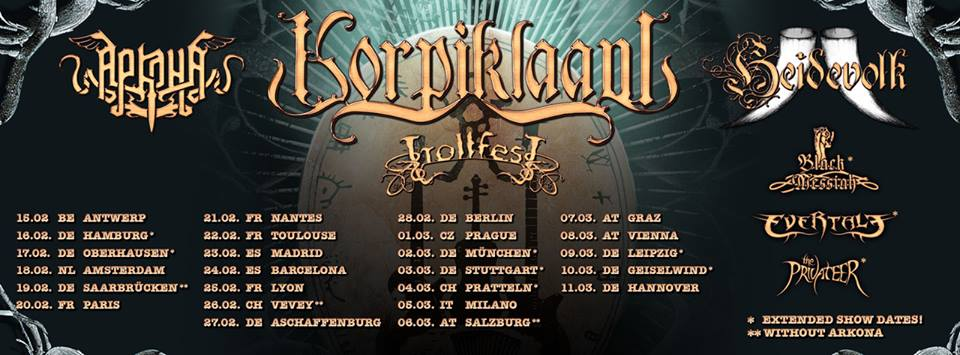 Banner Korpiklaani Tour